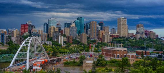 ville d'Edmonton au Canada